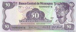 50 Cordobas NICARAGUA  1984 p.140 NEUF