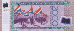 2000 Guaranies PARAGUAY  2009 P.228b NEUF
