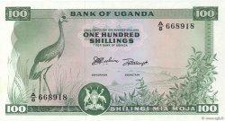 100 Shillings OUGANDA  1966 P.05a NEUF