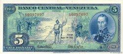 5 Bolivares VENEZUELA  1966 P.049 SPL