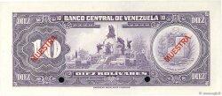 10 Bolivares VENEZUELA  1977 P.051s3 NEUF