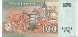 100 Litu LITUANIE  2007 P.70 pr.NEUF
