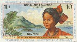 10 Francs type 1962 modifié 1964 ANTILLES FRANÇAISES  1966 P.08b pr.NEUF