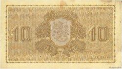 10 Markkaa FINLANDE  1939 P.070a TB