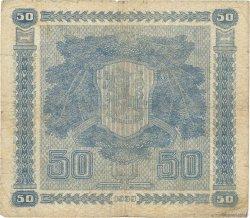 50 Markkaa FINLANDE  1939 P.072a B