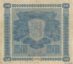 50 Markkaa FINLANDE  1939 P.072a TB