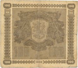 100 Markkaa FINLANDE  1939 P.073a B
