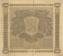 100 Markkaa FINLANDE  1939 P.073a pr.TTB