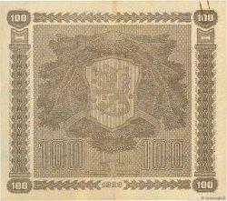 100 Markkaa FINLANDE  1939 P.073a TTB+