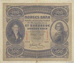 100 Kroner NORVÈGE  1942 P.10c TB+