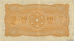 10 Kroner NORVÈGE  1944 P.08c TTB