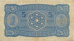 5 Kroner NORVÈGE  1942 P.07c TB