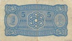 5 Kroner NORVÈGE  1943 P.07c pr.TTB