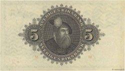 5 Kronor SUÈDE  1945 P.33ab SPL