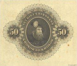 50 Kronor SUÈDE  1953 P.35af TTB
