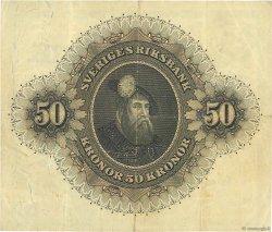 50 Kronor SUÈDE  1958 P.44d TB+