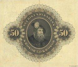 50 Kronor SUÈDE  1958 P.44d TTB