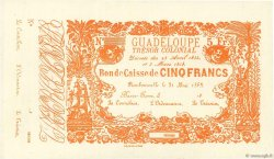 5 Francs GUADELOUPE  1858 P.A15 SPL+