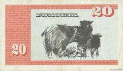 20 Kronur ÎLES FEROE  1986 P.19a TTB