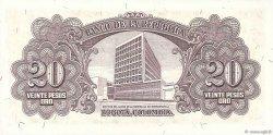 20 Pesos Oro COLOMBIE  1961 P.401c NEUF