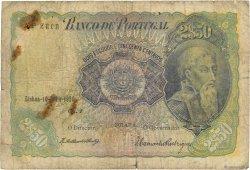 2 Escudos 50 Centavos PORTUGAL  1920 P.119 pr.B