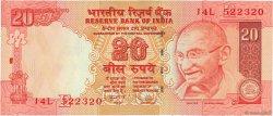 20 Rupees INDE  2009 P.096e NEUF