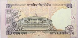 50 Rupees INDE  2011 P.097m NEUF