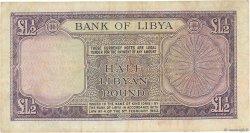 1/2 Pound LIBYE  1963 P.24 TB