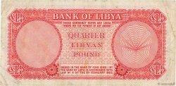1/4 Pound LIBYE  1963 P.23a TB