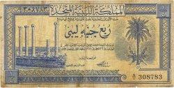 1/4 Pound LIBYE  1951 P.07 B
