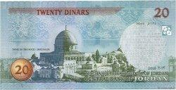 20 Dinars JORDANIE  2013 P.37d NEUF