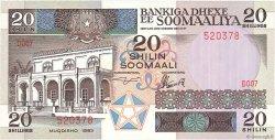 20 Shillings SOMALIE RÉPUBLIQUE DÉMOCRATIQUE  1983 P.33a NEUF