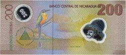 200 Cordobas NICARAGUA  2007 P.205b NEUF