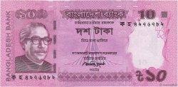 10 Taka BANGLADESH  2013 P.54b NEUF