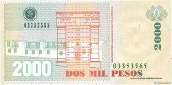 2000 Pesos COLOMBIE  2009 P.457k NEUF
