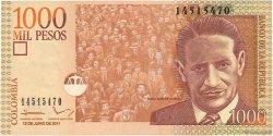 1000 Pesos COLOMBIE  2011 P.456o NEUF