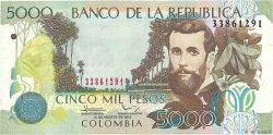 5000 Pesos COLOMBIE  2012 P.452n NEUF