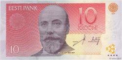 10 Krooni ESTONIE  2007 P.86b NEUF