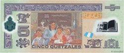 5 Quetzales GUATEMALA  2010 P.122a NEUF