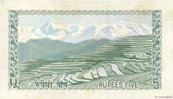 5 Rupees NÉPAL  1972 P.17 SPL