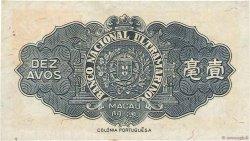 10 Avos MACAO  1946 P.036a SPL
