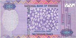 2000 Francs RWANDA  2014 P.New NEUF