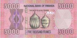 5000 Francs RWANDA  2014 P.New NEUF