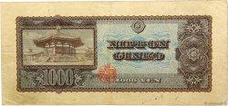 1000 Yen JAPON  1950 P.092b TB+