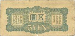5 Yen CHINE  1940 P.M17a TB