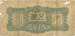 5 Yen CHINE  1940 P.M18a AB