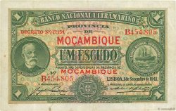 1 Escudo MOZAMBIQUE  1941 P.081 TTB