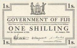 1 Shilling FIDJI  1942 P.048r1 NEUF