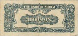 1000 Won CORÉE DU SUD  1950 P.08 TB+