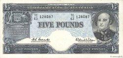5 Pounds AUSTRALIE  1961 P.35a TTB+